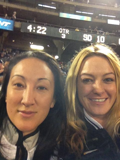 Me & Jess Oakland Raiders for Life